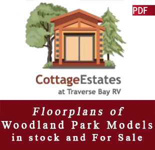 Traverse Bay RV Resort | Cottage Estates Spec Sheet